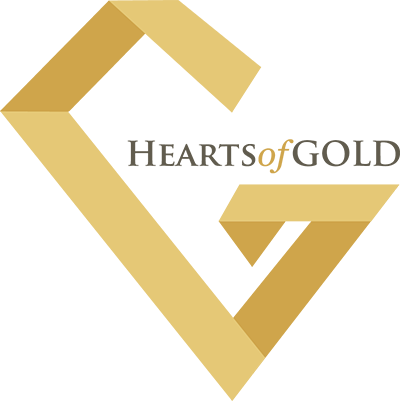 Hearts of GOLD logo