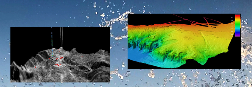 Ocean floor mapping images