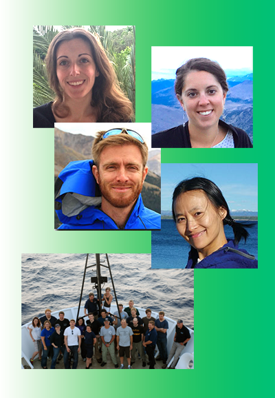 Photos of postdocs and interns