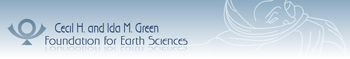 The Cecil H. Ida M. Green Foundation for Earth Sciences logo