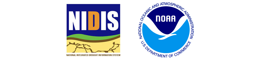 NIDIS and NOAA logos